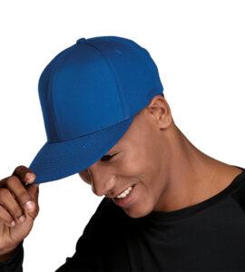 6-PANEL-FLAT-PEAK-CAP