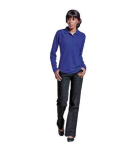 LADIES-175G-PIQUE-KNIT-LONG-SLEEVE-GOLFER