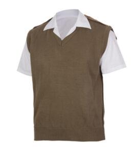 V-neck-Sleevles-Pullover